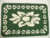 cheap pp jacquard doormats for home