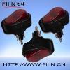 100pcs/lot 24V/12V lighted rocker switch