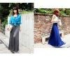 2012 western style fashion high waist casual pantskirt
