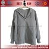 100% cotton custom lady zip hoodie