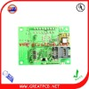2 layer electronic pcb assembly for power industrial control board