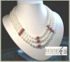 Brand New Fashion Luxurious right Freshwater Pearl Necklace P02