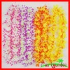 Hawaiian Silk Flower Lei/ Polyester Flower Lei/ Luau Party Flower Pwrals