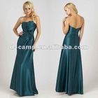 BD-091 Strapless pleated bodice western bridesmaid dress patterns