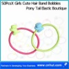 50PcsX Girls Cute Hair Band Bobbles Pony Tail Elastic Boutique05