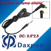 5.5*2.5 DC power cable for Acer,for Asus, for Benq, for Dell