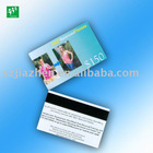 Full color printing PVC plastic magnetic card