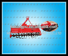 multi-function double shaft stubble cleaning rotary tillage ridger