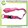 Promotion gifts Customized designs Cotton lanyards