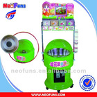 Coin Operated Cotton Candy Floss Vending Machine