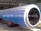 high output biomass rotary drum dryer