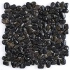 Black Polished Pebble Tile 1.5-2 L2