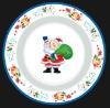 USA Christmas Day Using Plate&Dish;Merry Christmas Plate&Dish