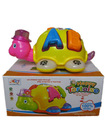 Electronic carton tortoise toys with music for children
