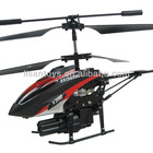 hot sale 3.5ch mini rc helicopter with gyro & shoot missile
