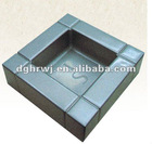 2012 new square metal ashtray
