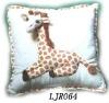 Plush animal Toy stuffed cushion Giraffe cushion