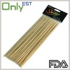 Round Disposable Bamboo Skewers