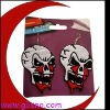 halloween skull Heads earring