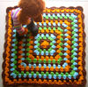 100% Hand Knitted Crocheted Dog Blankets, Crochet Pet Blanket made in China, Made to Order (KCC-PBLKT002)