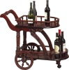 european style Wooden Dining beverage cart NS-501