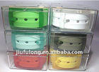 high quality rubber belts with plastic buckle