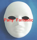 DIY party mask portrait