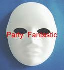 DIY party mask portrait