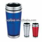 bpa free 16oz stainless steel travel tumbler