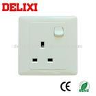 UK 13A Wall Switch and Socket