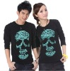 Asia Newest Summer Lovers' clothes,long sleeve t shirt