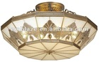 modern design Copper ceiling lamp pendant lamp W860XH480