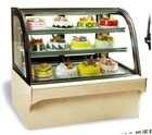 RG Pillow Foot Cake Display Cabinet