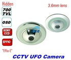 "Sony 700TVL Professional 1/3"" CCD UFO Camera Silver"