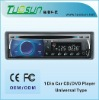 Single Din Car CD Player with Remote Control and Optional Built-in Bluetooth Function, Supports MP3