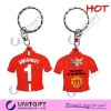 Football team T-shirt shape Keychain