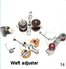 weft adjuster for textile component