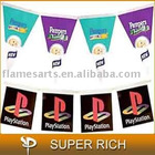 Paper bunting (Paper flag,pennant string)