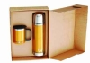 Gift set including coffee mug and thermos cup