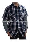 Men's cotton plaids shirts DFMN-11013