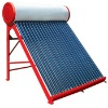 Best design unpressurized solar water heater