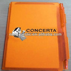 Kraft Notebook Paper,Best-seller Spiral Notebook with Colored Paper