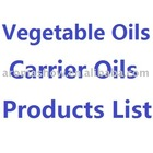 25kg Vegetable Oils - Carrier Oils Product List