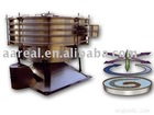 Tumbler sieving equipment for PVC resin particles