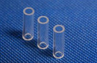 High boron silicon glass tube for WDM