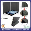 Promotional pu leather folding case for ipad
