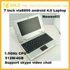 7 inch laptop mini laptop