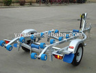 4 M aluminum speed boat trailer
