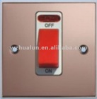 stainless steel wall switch,thin wall switch