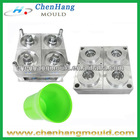 4-Cup Mold Plastic Injection